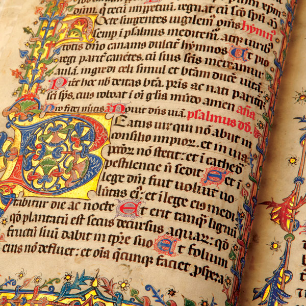 Psalterium Gallicanum Feriatum, 1420